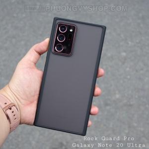 Ốp chống sốc Galaxy Note 20 Ultra - Rock Guard Pro